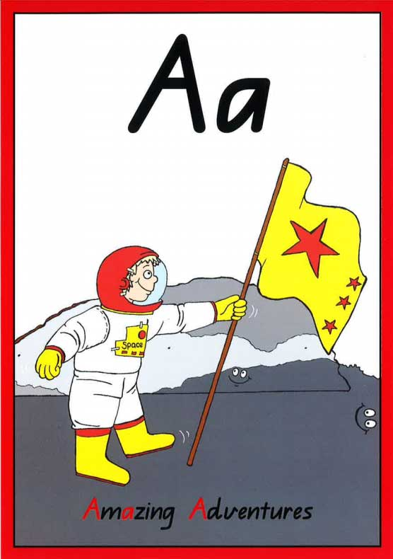 A-flash-card